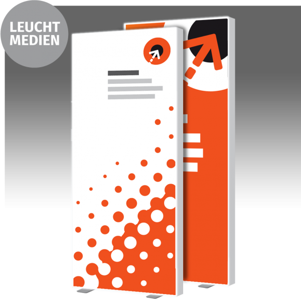 Lightbox-Poster – B 100 cm x H 230 cm