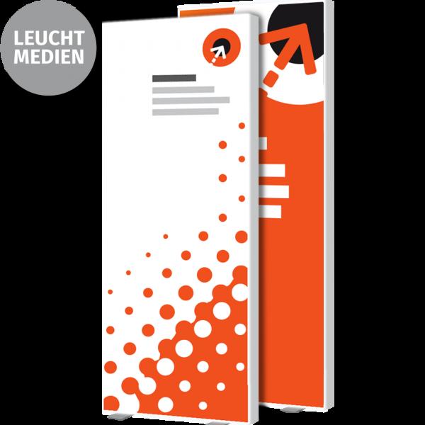 Lightbox-Poster – B 100 cm x H 250 cm