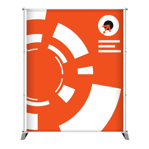 Gestaltung des Messe-Bannerdisplay PEGASUS 190