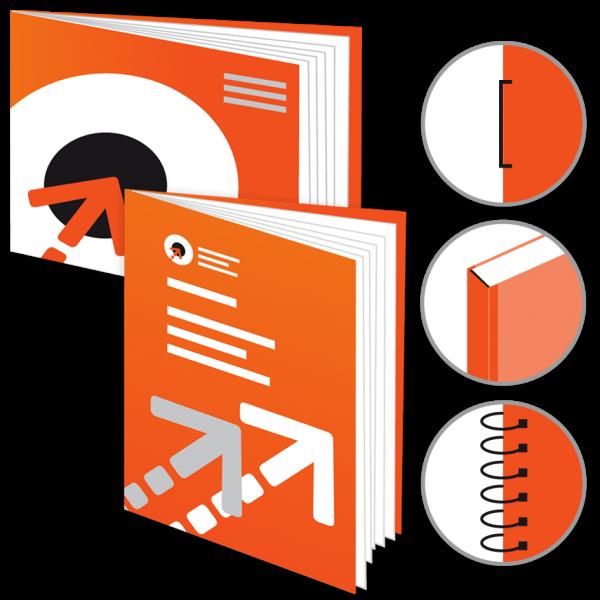 Broschüre, Katalog, Magazin - DIN A5