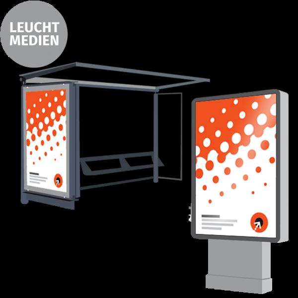 Citylight-Poster - B 118,5 x H 175 cm | 1-seitig