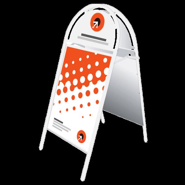 Plakatgestaltung & Logo-Vektorisierung für Kundenstopper IRON