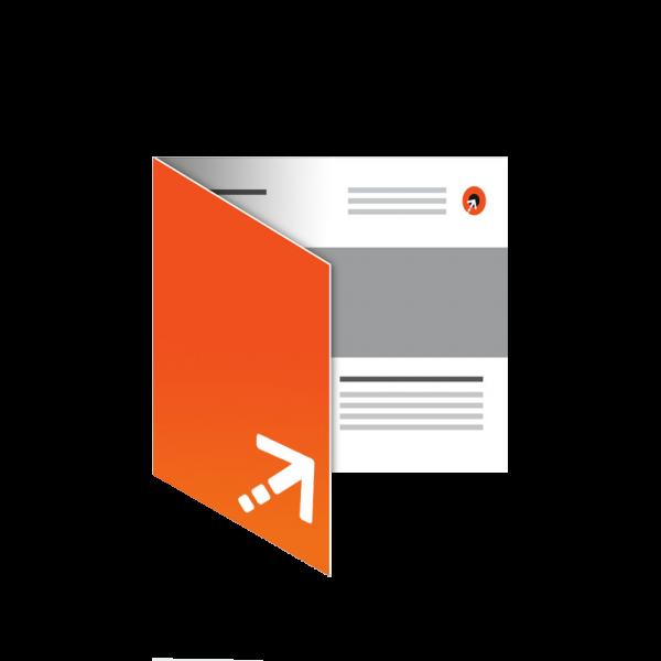 Flyer - Quadrat 98 | 4 Seiten | Einbruchfalz