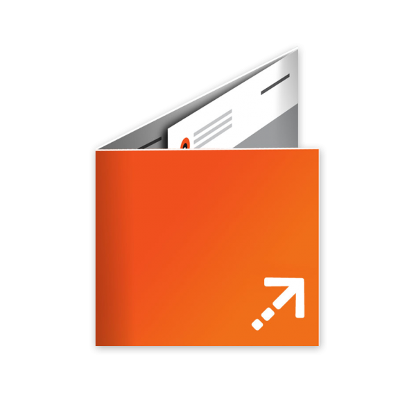 Flyer - Quadrat 210 | 6 Seiten | Wickelfalz
