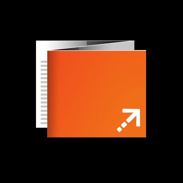 Flyer - Quadrat 148 | 6 Seiten | Zickzackfalz