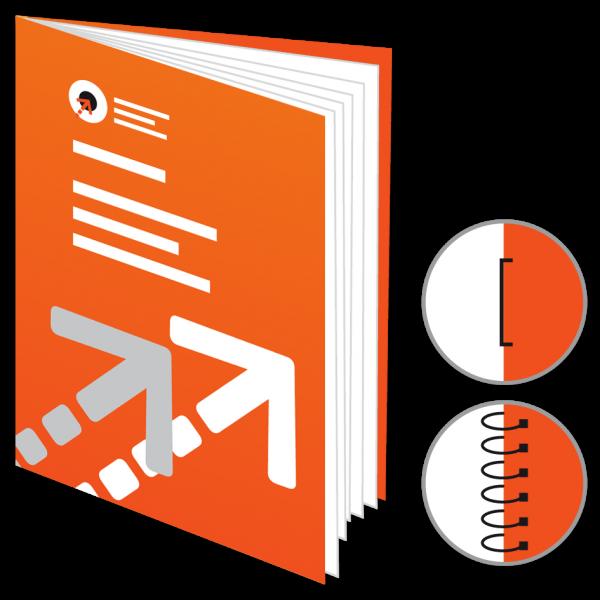 Broschüre, Katalog, Magazin - Din A3