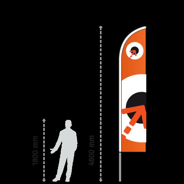 Beachflag - Wing XLarge