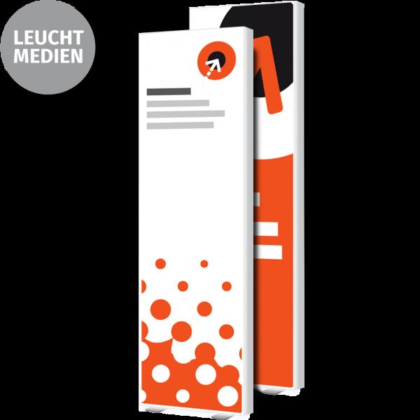 Lightbox-Poster – B 85 cm x H 250 cm