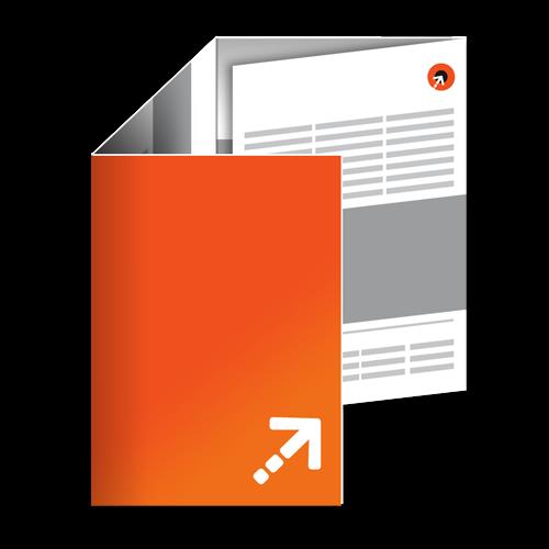 Falzflyer - Din A5 | 8 Seiten | Zickzackfalz
