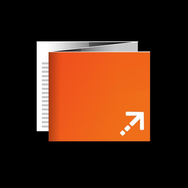 Flyer - Quadrat 105 | 6 Seiten | Zickzackfalz