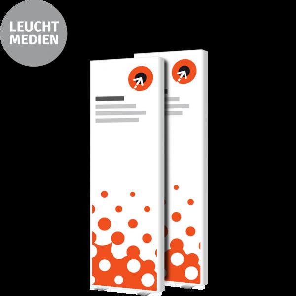Lightbox-Poster - B 85 cm x H 200 cm