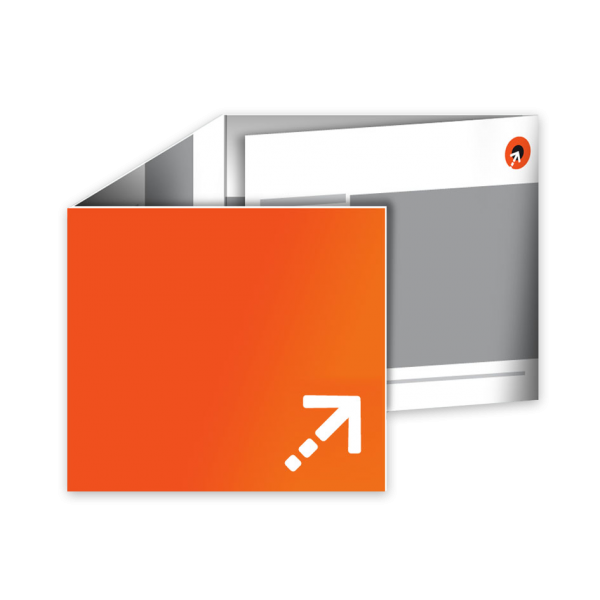 Flyer - Quadrat 210 | 8 Seiten | Wickelfalz