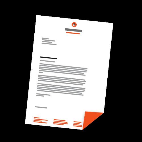 Briefbogen - DIN A4 | 2-seitig